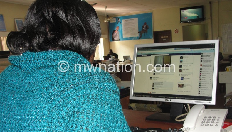 Social media users such as this one should brace for restrictions and regulation if the proposed law is passed