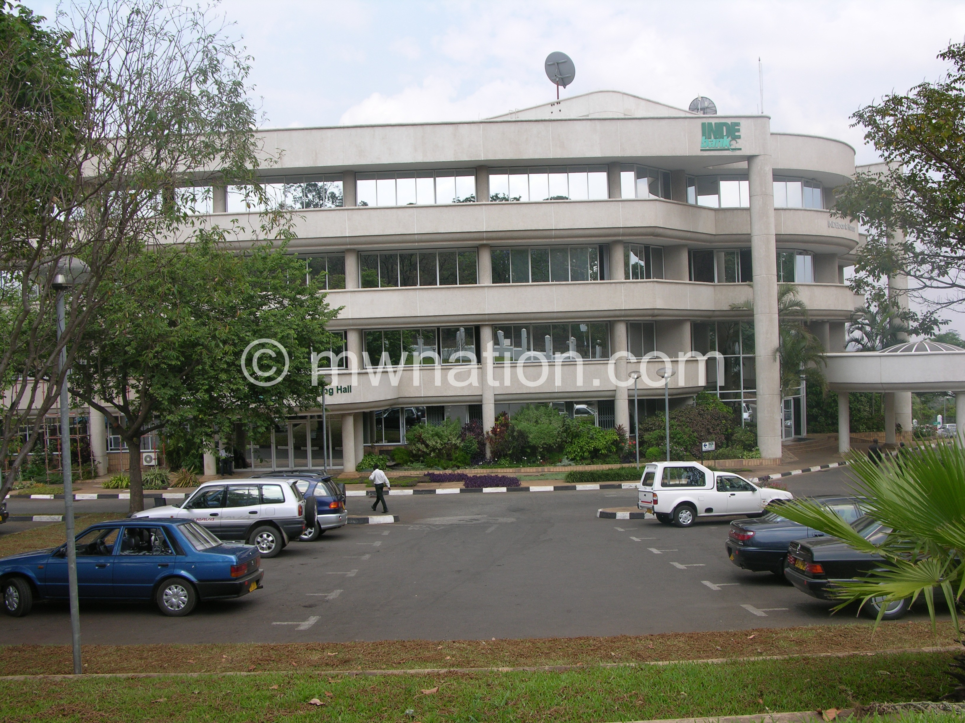 Indebank HQ in Blantyre