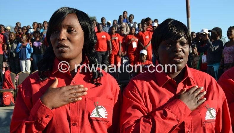 Were hired as caretakers: Chawinga-Kalua and Waya