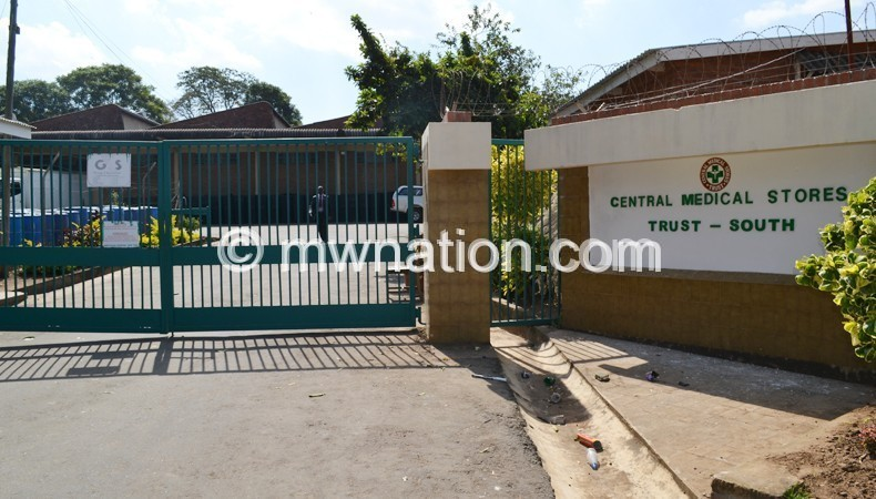 Central Medical Stores Trust offices in Blantyre