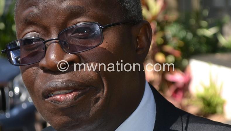 Asked to be recuse himself: Mwaungulu