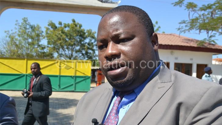 Kondwani Nankhumwa as the new Leader of the House