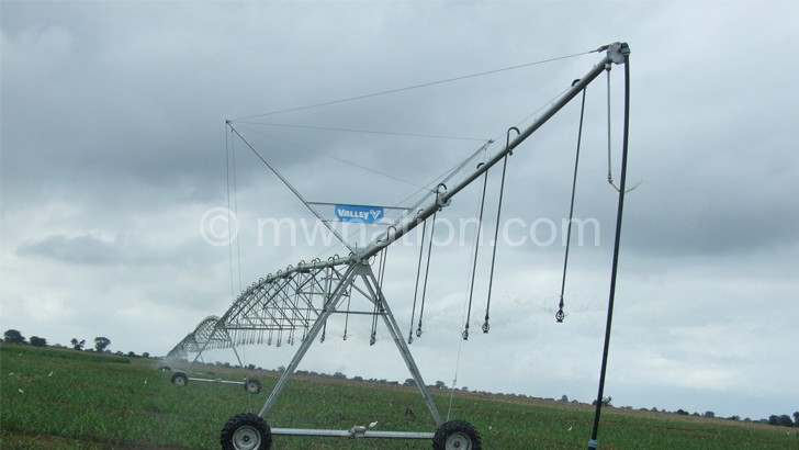 Irrigation is a capital intensive venture that needs a holistic approach