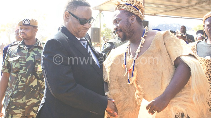 Asked people to vote for Mutharika: M'mbelwa