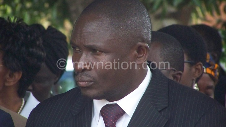 Kalemba: I am disappointed