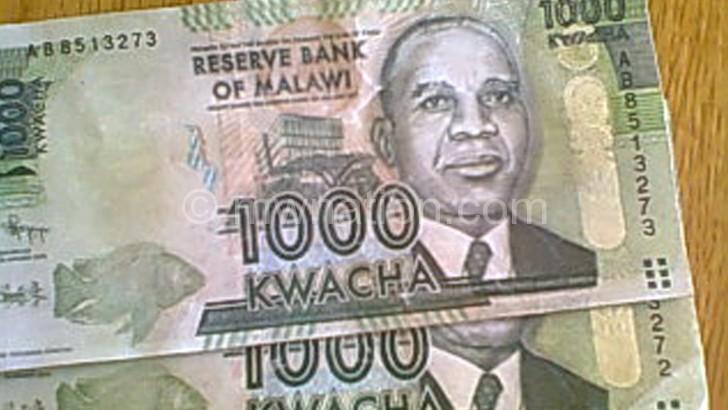 The fake bank notes