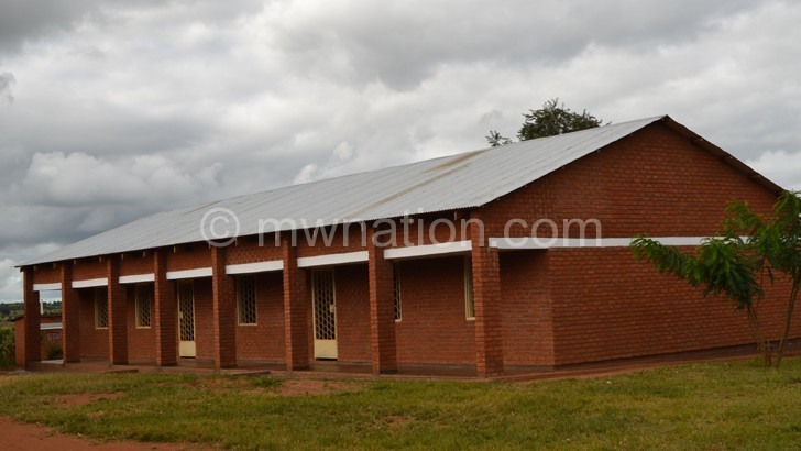 Youths are demanding decent classrooms such  as these at Mphaza Primary  School