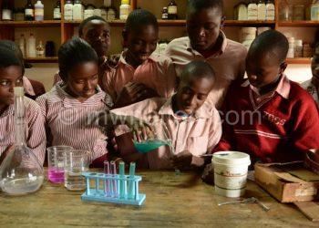 Schools will be required to have functioning science laboratories like is the case at Zingwangwa Secondary School in Blantyre
