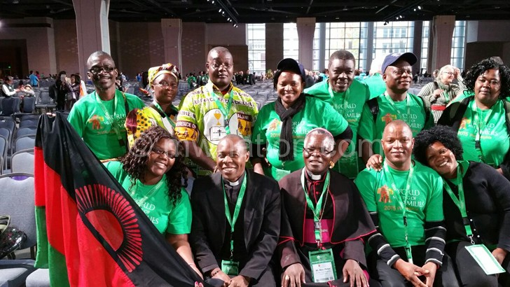 The Malawi delegation at the World Meeting of Family