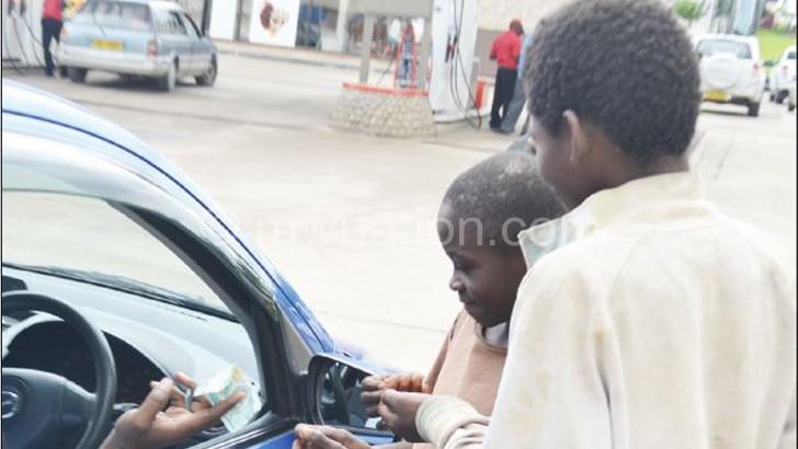 At risk: Street kids captured in Blantyre