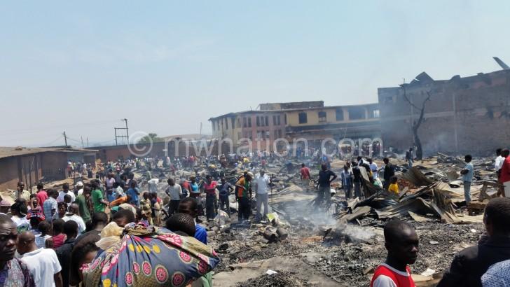 MZUZU  market fire e1444981269575 | The Nation Online