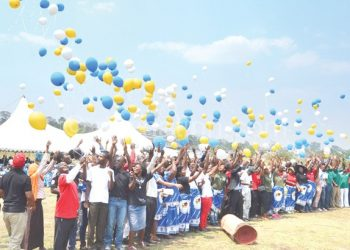 Students fly balloons to mark Unima's 50 years  of existence
