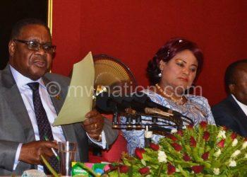 Mutharika under fire