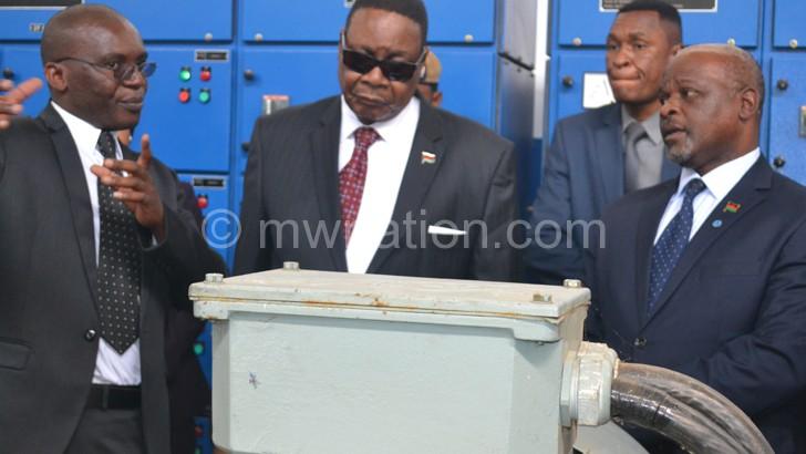 Mutharika: We will relocate them