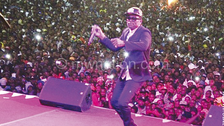 Took the event to another level when he performed last year: Busy Signal
