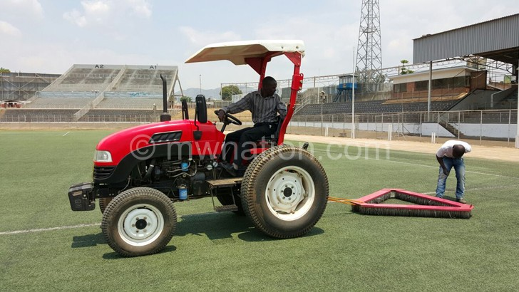 kamuzu stadium | The Nation Online
