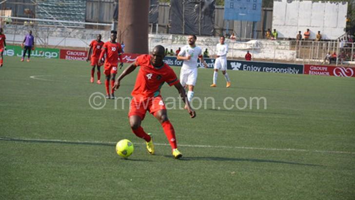 Carries Flames' hopes: Msowoya