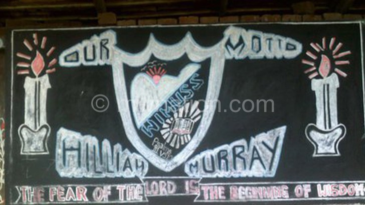The school motto providing advice the students did not abide to