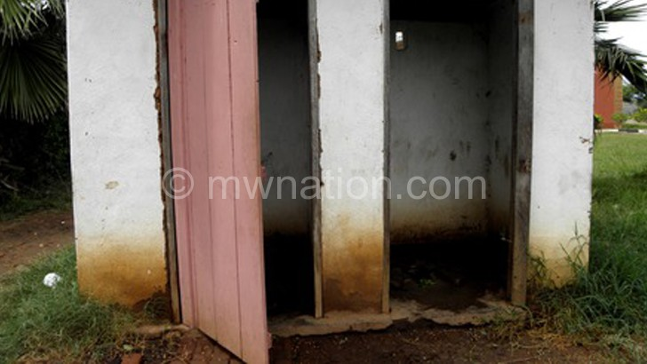 Some health centres in the country use toilets such as these