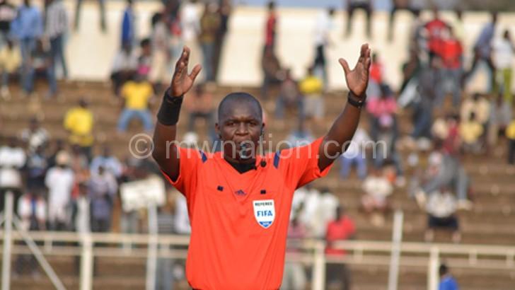 Has retained Fifa badge: Nguluwe