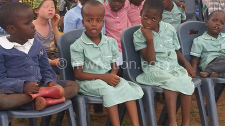 Children with disabilties such as these sohuld be incorporated into normal schools
