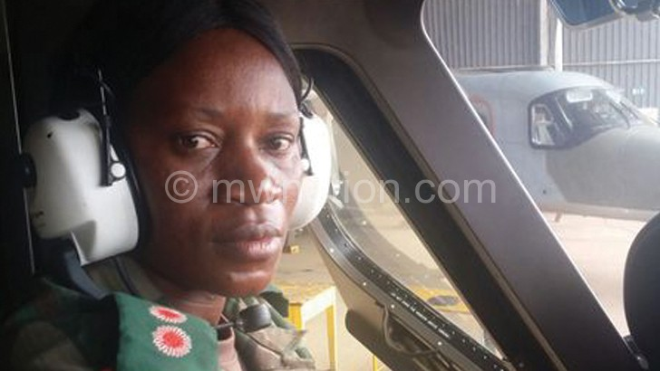 FLORA NGWIliNJI: THE FIRST MALAWI DEFENCE FORCE (MDF) FEMALE PILOT