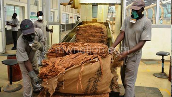 JTI Leaf Malawi factory in Lilongwe processing IPS burley tobacco