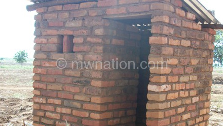 People in the area are now using  pit latrines