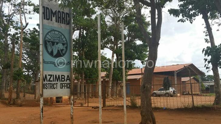 Mzimba  Admarc Depot