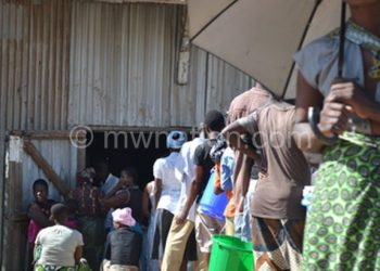 People are queueing for Maize at Amarc Depots