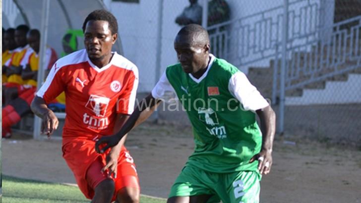 Scored four goals against Karonga:  Mbulu (R)