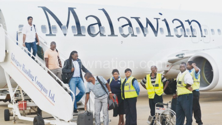 Malawian Airlines will continue to fly in and out of Chileka International Airport