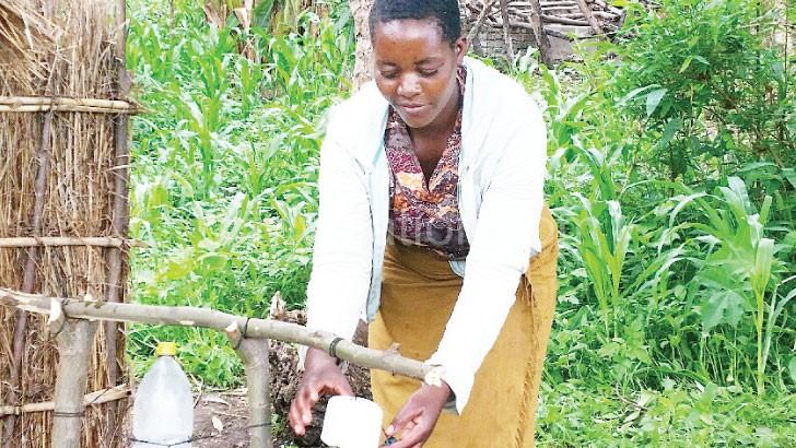 Mitress Januwale now practises good sanitation