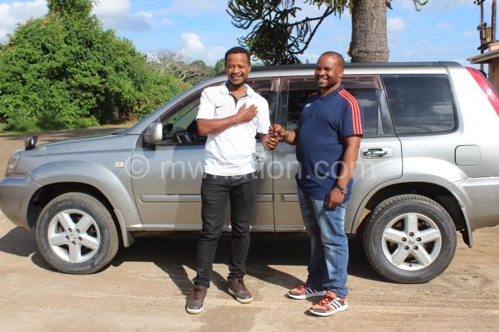Mtawali gets car 1 e1455112020446 | The Nation Online