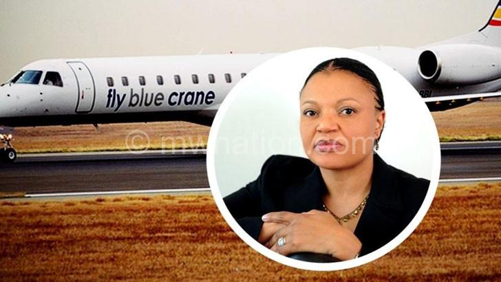Mzimela: Shows off the Blue Crane
