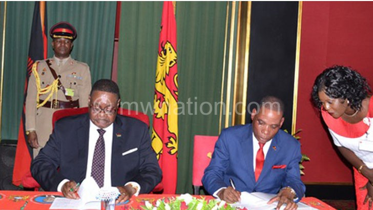 Peter muntharika | The Nation Online