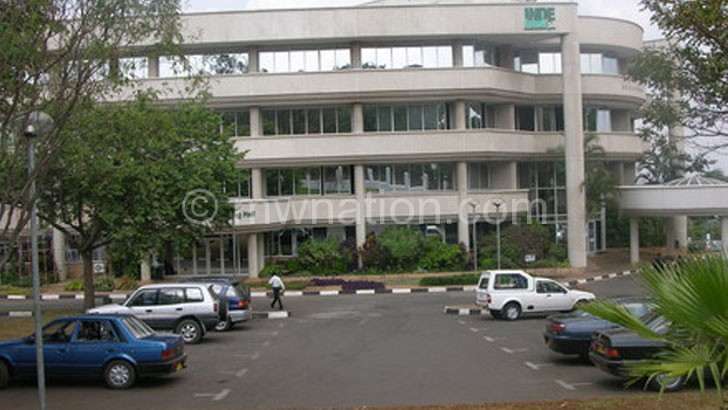 Former Indebank Head Office in Blantyre
