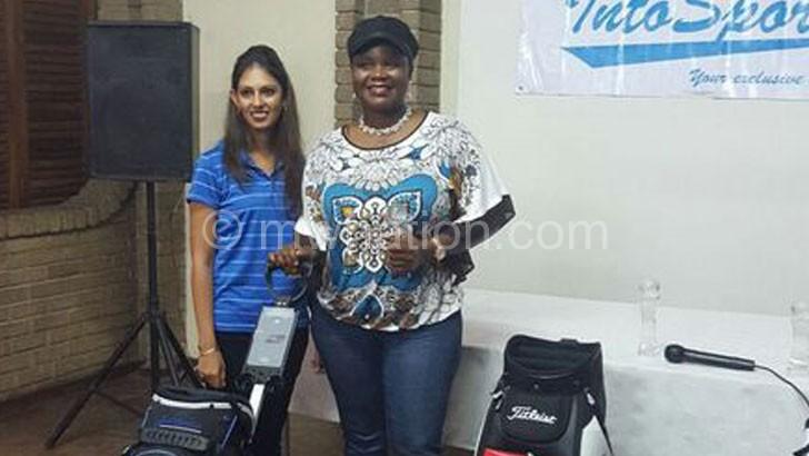 Won three ladies' prizes: Mbilizi (R)