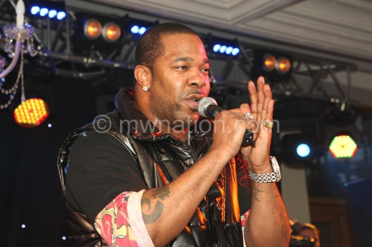 NLA booked rapper Busta Rhymes for Moscow