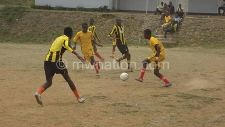Feeder team: Chitawira Rangers (in yellow) will now be Bullets' reserve side