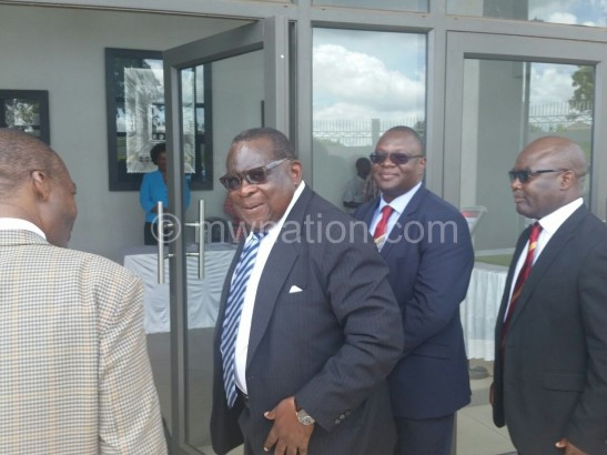 We will do without financial support from donors:   Gondwe on arrival at the meeting on Saturday