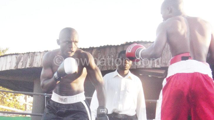 Kayuni (L) and Masamba took boxing by storm