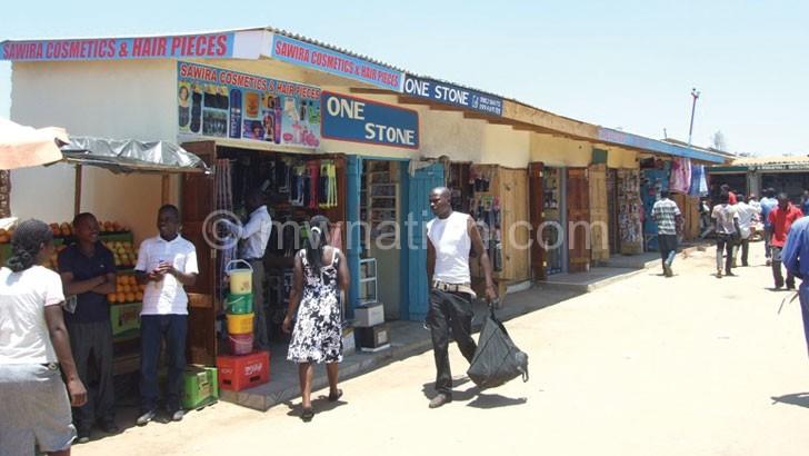 Mzuzu market shops | The Nation Online