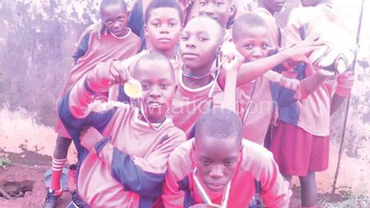 Nurturing talent: Chisomo Football Academy students