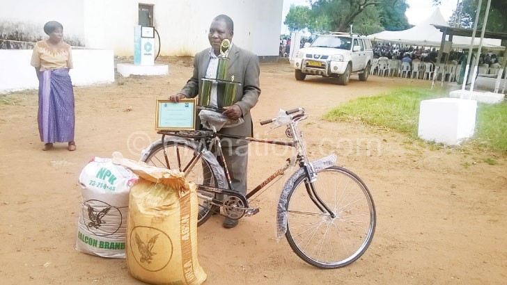 Rewarded: Senior Chief Khongoni