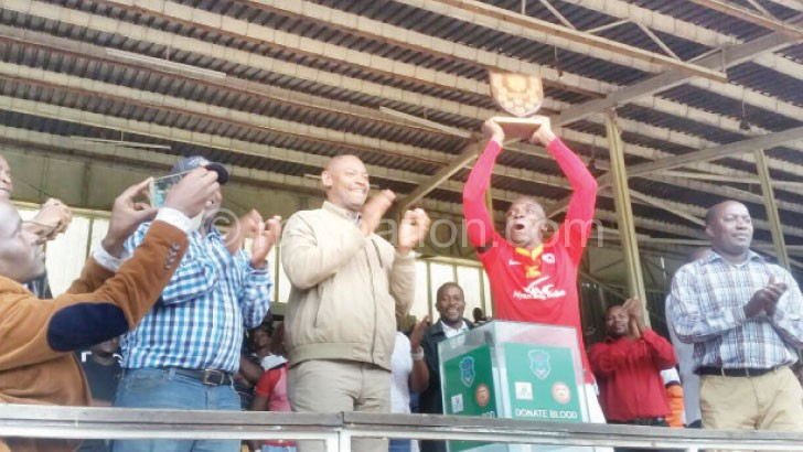 Bullets were the inaugural winners of the Charity Shield