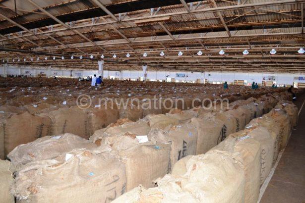 Deserted auction floors at Kanengo