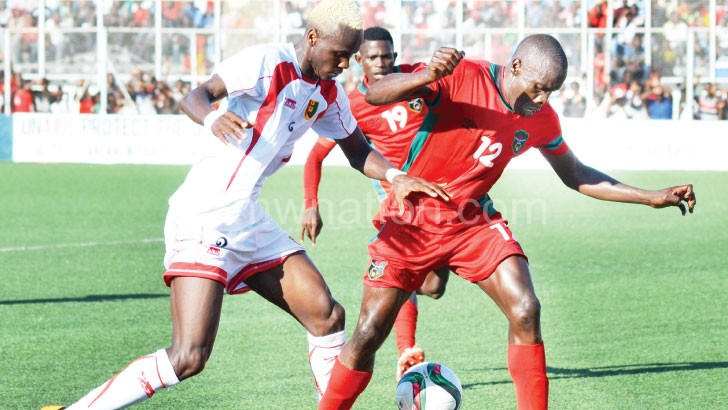 Malawi gave away a 1-0 lead to lose 1-2 to Guinea