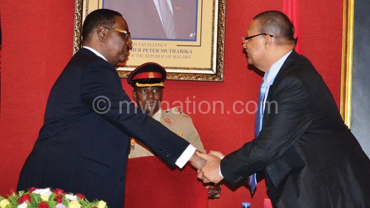 Mutharika wishes Surrur fruitful deliberationsfor