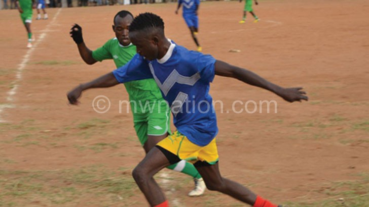 Teams in action in CRFA's Chipiku Premier League